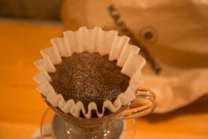 Kaffen avgir gass